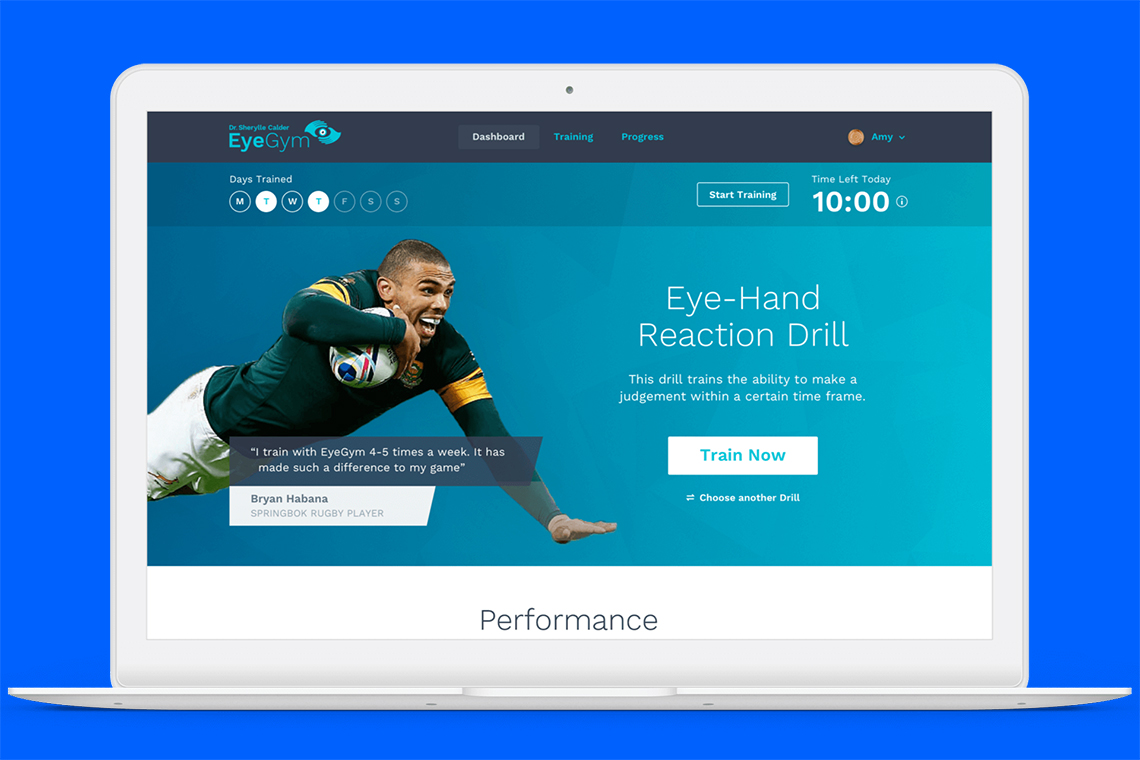 EyeGym discount available with Play-Ex Sports